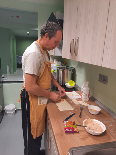 Priprava večerje
