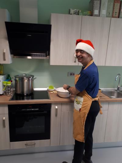 Nasmeh našega kuharskega mojstra